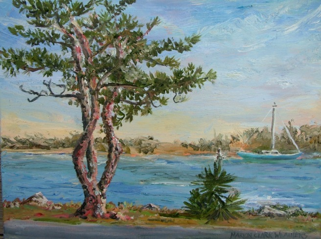 Beaufort Pine 24x30 $1000