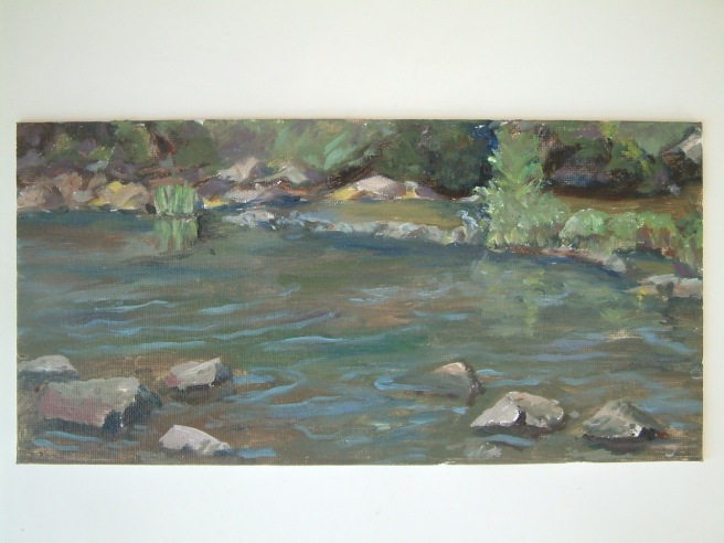 Below Falls of the Neuse 6x12 $150