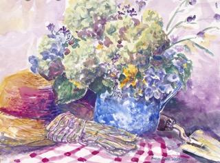 Fresh--Hydrangeas