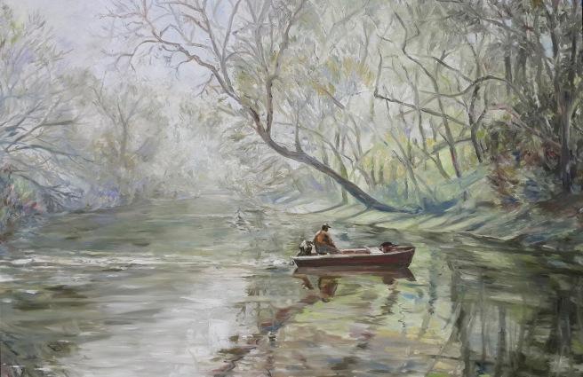 Tar River Reverie 36x48 3500