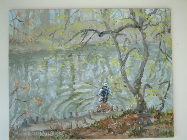 Wading In 8x10 $200