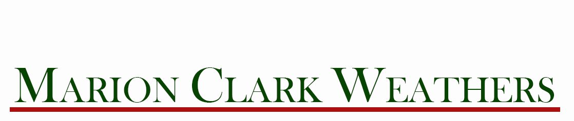 Marion Clark Weathers