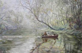 Tar River Reverie 36-x48- 3500